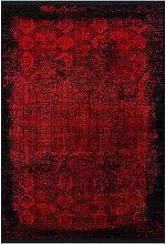 Dieter Knoll VINTAGE-TEPPICH 140/200 cm Rot,