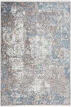 Dieter Knoll VINTAGE-TEPPICH 200/290 cm Blau ,