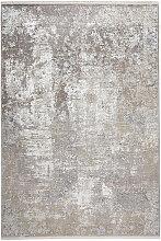 Dieter Knoll VINTAGE-TEPPICH 80/150 cm Grau ,