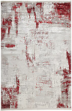 Dieter Knoll VINTAGE-TEPPICH 80/150 cm Rot,