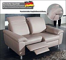 Dietsch Cortina Leder Relaxsofas mit Fußstütze Leder o. Textil