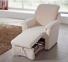 Dietsch Florenz Sessel mit Hocker ausziehbar