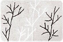DIFFERNZ 31.220.25Leaf, Badteppich grau