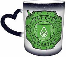 Digimon Logo Farbwechsel Sternenhimmel Becher
