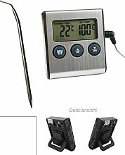 Digital Backofen - Thermometer mit Einstich
