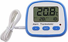 Digital Fridge Freezer Thermometer With Easy To