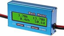 Digital Monitor LCD Watt Meter 60V/100A DC Ammeter