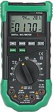 Digital Multimeter Beleuchtung LUX Rauschmessgerät Temperatur- Und Luftfeuchtigkeitstester
