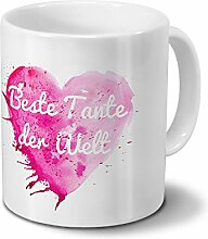 digital print Tasse mit Namen Beste Tante der Welt