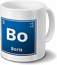 digital print Tasse mit Namen Boris als