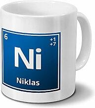 digital print Tasse mit Namen Niklas als