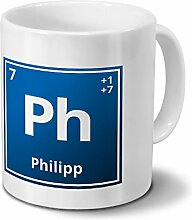 digital print Tasse mit Namen Philipp als