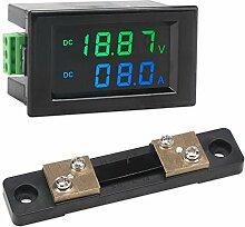 Digital Voltmeter Amperemeter, Droking DC 0-200 V