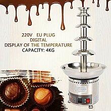Digitalanzeige Schokoladenbrunnen YUNRUX 5 Etagen