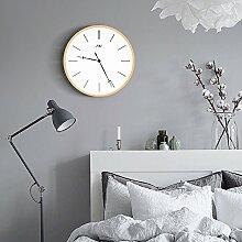 Digitale Holz Lautlos Uhr Große Wanduhr für