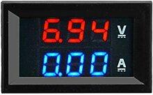 Digitale Stromtester, Multimeter 100V 10A DC