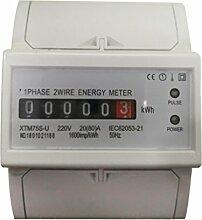 Digitale Stromzähler Elektrozähler Wattmeter KWh