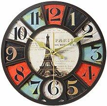 Digitale Wanduhr/Stille Wanduhr, Dekorative Uhr