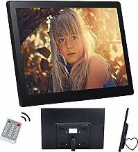 Digitaler Bilderrahmen 15 Zoll HD 16:9 Ultra Slim