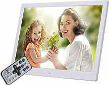 Digitaler Bilderrahmen, 15-Zoll-HD-LED mit
