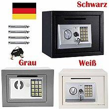 Digitaler Tresor mit Schlüssel und