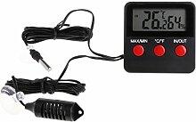 Digitales Thermometer, Hygrometer, für Reptilien,