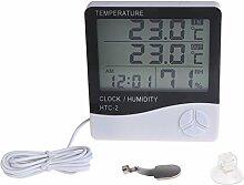 Digitales Thermometer/Hygrometer mit LCD-Display