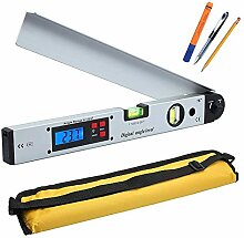 Digitales Winkel-Lineal, LCD-Display,