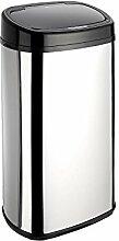 Dihl Onyx-58-Liter-Sensor-Mülleimer, Chrom