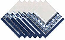 DII Küchentextilien Napkin Set Porto Stripe