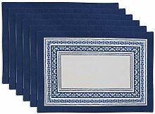DII Küchentextilien Placemat Set Porto Stripe