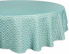 DII Runde Tischdecke aus 100% Polyester, mit