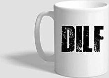DILF Tasse, lustiger Vatertag, Vatertag,
