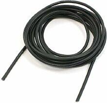 Dimart huishoudapparaat 16AWG Bestand tegen hoge temperaturen zwart silicone draad-2M