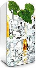 DIMEX LINE Kühlschrank Aufkleber EIS MIT Zitrone