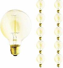 Dimmbar G80 Edison Lampe E27 Globe Vintage