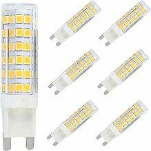 Dimmbar G9 LED Stecksockel Lampe 7W 600 Lumen,