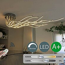 Dimmbar LED Deckenleuchte Fernbedienung Modern