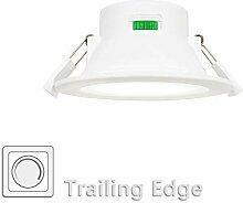 Dimmbare LED Einbauleuchten Einbaustrahler Flach