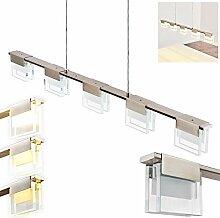 Dimmbare LED-Pendelleuchte Aadorf 5-flammig -