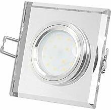 Dimmbarer LED Einbaustrahler extrem flach (15mm)