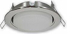 Dimmbarer LED Einbaustrahler GX53 230 V chrom