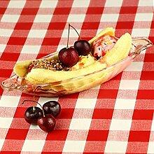 dine@drinkstuff Eis-Schale für Bananensplit,