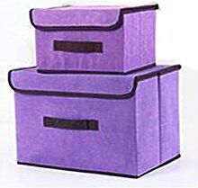 Dingcaiyi Aufbewahrungsboxen Organisation von 2,