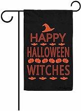 dingjiakemao Hauptflagge,Happy Halloween Hexen