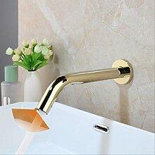 dingwen Schwarz Chrom Toilette Bad Wasserhahn
