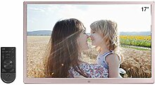 DINGYUFA 17 Zoll Digitaler Bilderrahmen 1080P HD