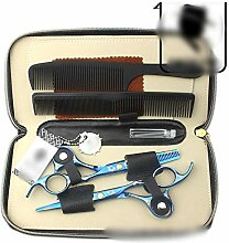 Dingziyue 6,0-Zoll-Haarfarbe Schere Set, Werkzeuge