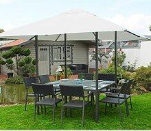 Dining Pavillon + Esstisch und Gartenzelt (3 x 3