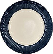 Dinner Plate, Alice Dark Blue von GREENGATE